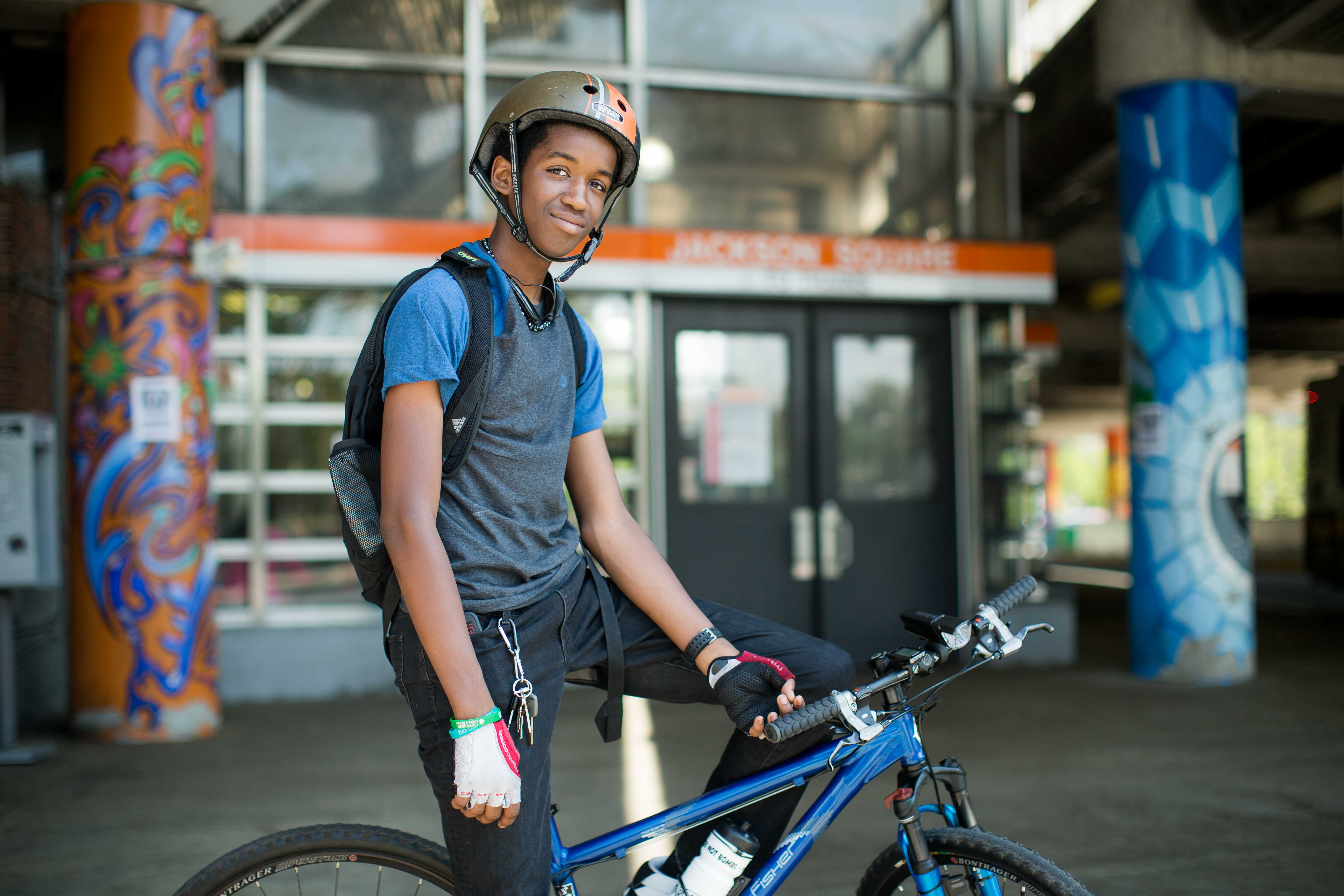 Urban Youth Portrait - Boston Hubway